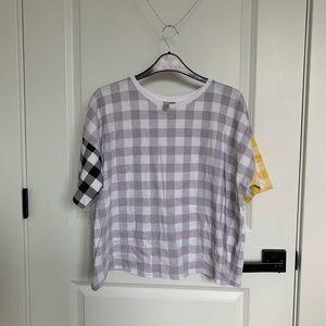 gingham ASOS t-shirt